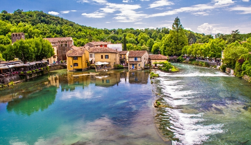 Places to visit around holiday appartments in Borghetto sul Mincio